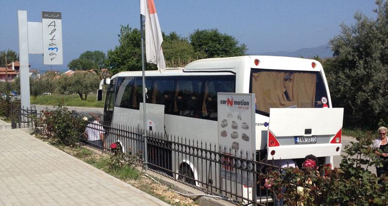 Ξενοδοχείο Altamar - Μεταφορά από το αεροδρόμιο με πούλμαν